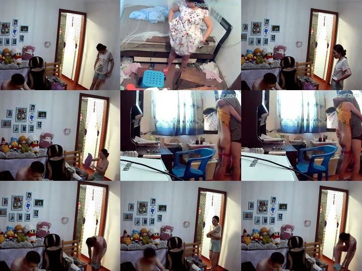 Hacked IP Camera China peepvoyeur_A546-A556, A guy has hacked some internet cameras to show you what has happened in people's private life
