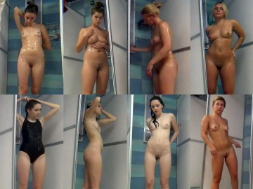 Hidden Camera Public Shower 5 – 8