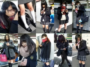 有名なお嬢様女子kに通う真面目J系を追跡pちら。大量写真集 ton273_2